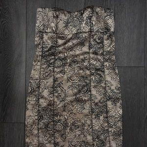 Dresses & Skirts - Satin strapless formal dress